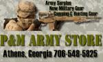 Army Surplus Store