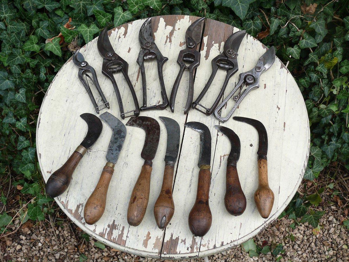 Exquisit Blickfang Alte Zeiten Ideen Von Gartenscheren Und Hippen